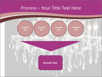 Contemporary glass chandelier PowerPoint Template - Slide 93
