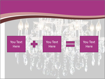 Contemporary glass chandelier PowerPoint Template - Slide 95