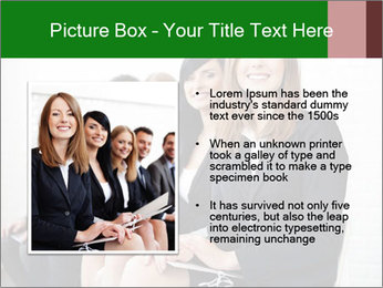 Successful businesswoman PowerPoint Templates - Slide 13