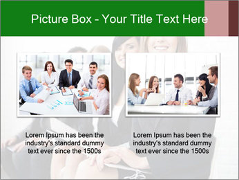 Successful businesswoman PowerPoint Template - Slide 18