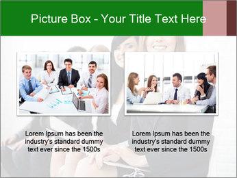 Successful businesswoman PowerPoint Template - Slide 18