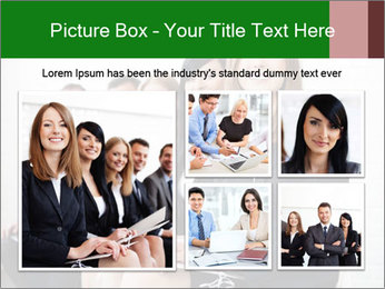 Successful businesswoman PowerPoint Templates - Slide 19