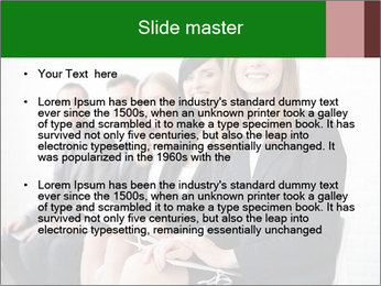 Successful businesswoman PowerPoint Template - Slide 2