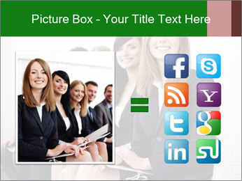 Successful businesswoman PowerPoint Templates - Slide 21