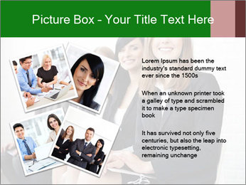 Successful businesswoman PowerPoint Template - Slide 23