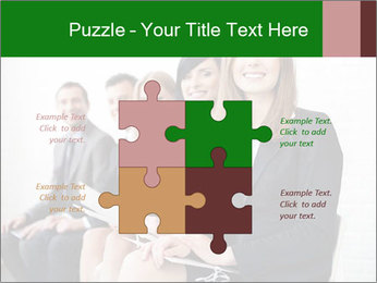 Successful businesswoman PowerPoint Template - Slide 43