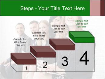 Successful businesswoman PowerPoint Template - Slide 64