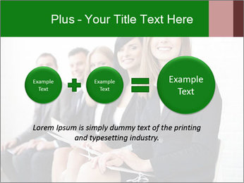 Successful businesswoman PowerPoint Template - Slide 75