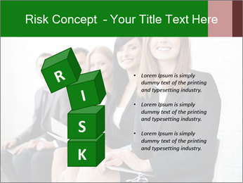 Successful businesswoman PowerPoint Template - Slide 81