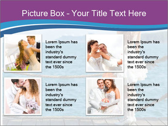 Beautiful bride PowerPoint Template - Slide 14
