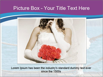 Beautiful bride PowerPoint Template - Slide 15
