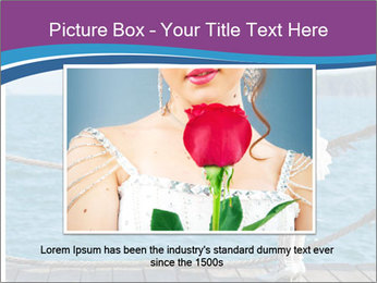 Beautiful bride PowerPoint Template - Slide 16