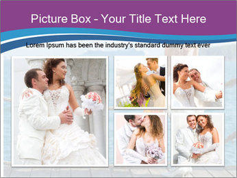 Beautiful bride PowerPoint Template - Slide 19