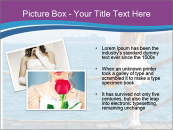 Beautiful bride PowerPoint Template - Slide 20