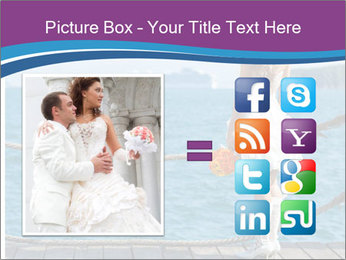 Beautiful bride PowerPoint Template - Slide 21