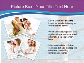 Beautiful bride PowerPoint Template - Slide 23