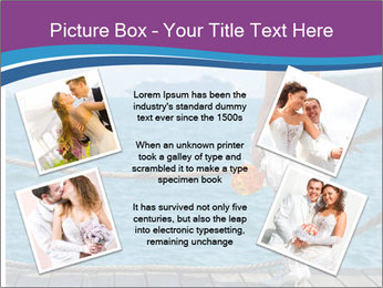 Beautiful bride PowerPoint Template - Slide 24