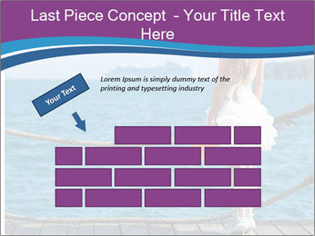 Beautiful bride PowerPoint Template - Slide 46
