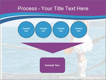 Beautiful bride PowerPoint Template - Slide 93