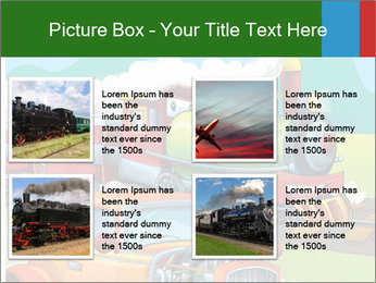 The hot rod PowerPoint Template - Slide 14