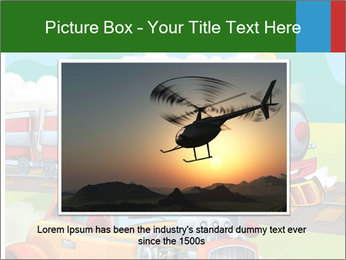 The hot rod PowerPoint Template - Slide 16