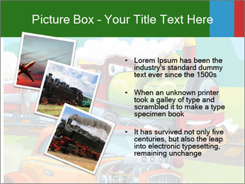 The hot rod PowerPoint Template - Slide 17