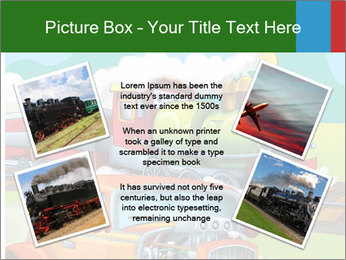 The hot rod PowerPoint Template - Slide 24