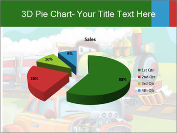 The hot rod PowerPoint Template - Slide 35