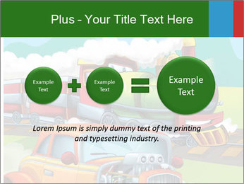 The hot rod PowerPoint Template - Slide 75
