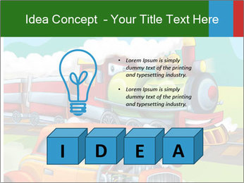 The hot rod PowerPoint Template - Slide 80