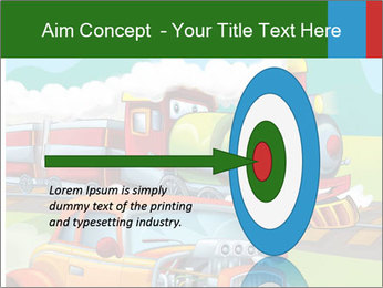 The hot rod PowerPoint Template - Slide 83