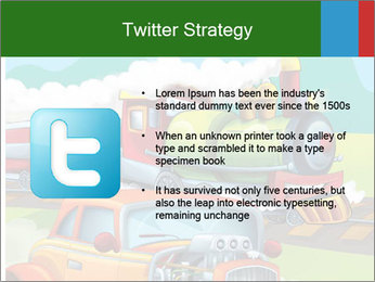 The hot rod PowerPoint Template - Slide 9