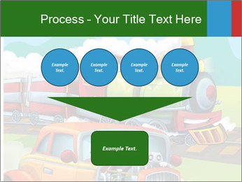 The hot rod PowerPoint Template - Slide 93