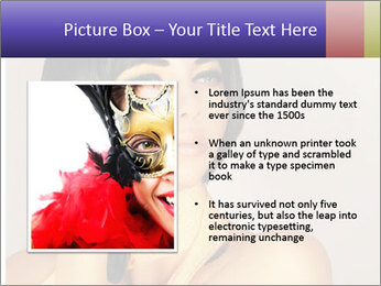 Picture of gorgeous female PowerPoint Templates - Slide 13