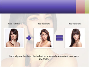 Picture of gorgeous female PowerPoint Templates - Slide 22