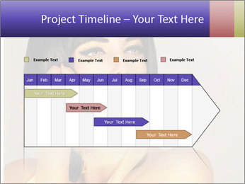 Picture of gorgeous female PowerPoint Templates - Slide 25