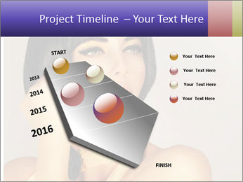 Picture of gorgeous female PowerPoint Templates - Slide 26