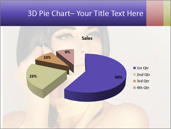 Picture of gorgeous female PowerPoint Templates - Slide 35