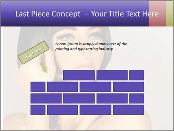 Picture of gorgeous female PowerPoint Templates - Slide 46
