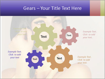 Picture of gorgeous female PowerPoint Templates - Slide 47