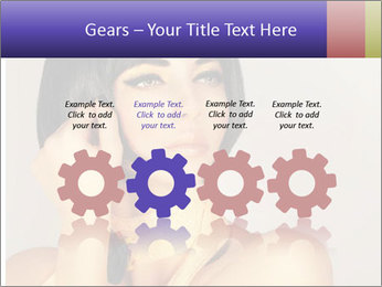 Picture of gorgeous female PowerPoint Templates - Slide 48