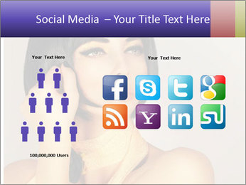 Picture of gorgeous female PowerPoint Templates - Slide 5
