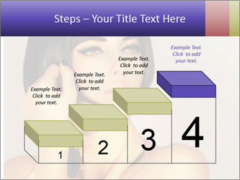 Picture of gorgeous female PowerPoint Templates - Slide 64