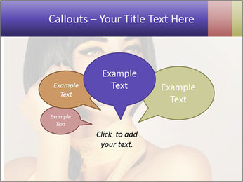 Picture of gorgeous female PowerPoint Templates - Slide 73