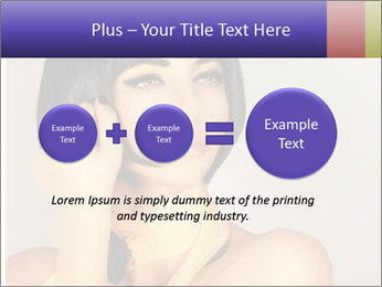 Picture of gorgeous female PowerPoint Templates - Slide 75