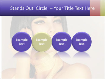 Picture of gorgeous female PowerPoint Templates - Slide 76