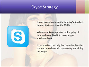 Picture of gorgeous female PowerPoint Templates - Slide 8