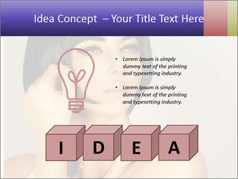 Picture of gorgeous female PowerPoint Templates - Slide 80