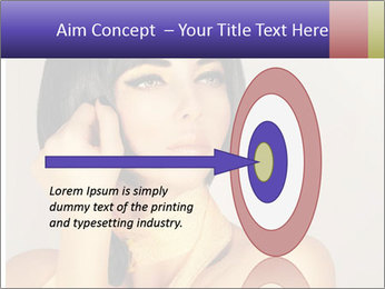Picture of gorgeous female PowerPoint Templates - Slide 83