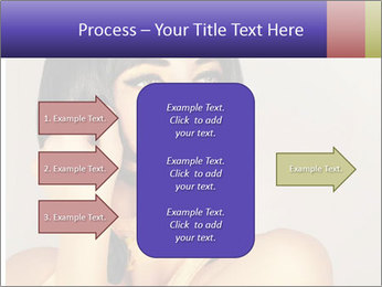 Picture of gorgeous female PowerPoint Templates - Slide 85